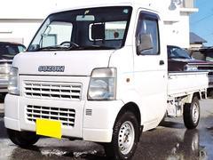 キャリイトラックKC 切替式4WD エアコン パワステ Tチェーン車