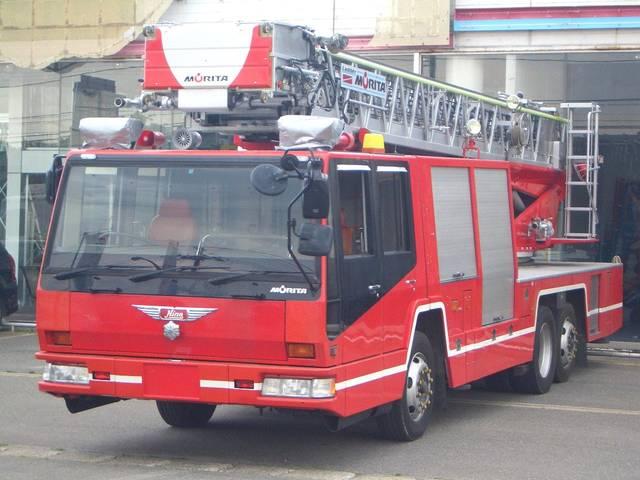 モリタ36Mはしご車消防車梯子車ハシゴ車4WS