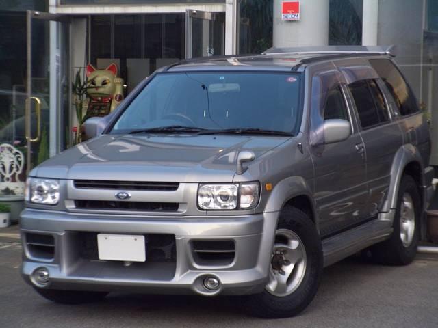 Nissan Terrano Regulus Star Fire Wide 2000 Silver M 145 000 Km