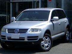 VW トゥアレグV6 HDDナビTV18アルミ オールレザーP