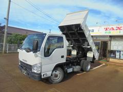 エルフトラックフルフラットロー強化ダンプ4WD2トン4NO