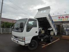 エルフトラック高床強化ダンプ4WD2トン