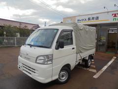 ハイゼットトラックスペシャル4WD3方開エアコン・パワステ幌付