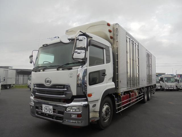 大型冷蔵冷凍車 菱重冷凍機低温 エスコット QKG−CW5Z