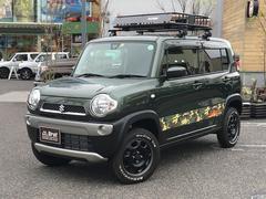 ハスラーGワンオーナー ブレーキサポート シートヒーター 4WD