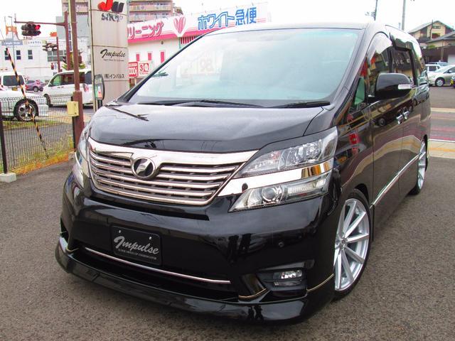 トヨタ 3.5Z プラチナセレクション20AW車高調HDDナビ地デジ
