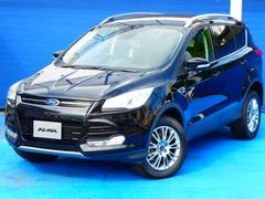 フォード クーガトレンド 4WD 登録未使用車 ハーフレザーシート