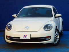 VW ザ・ビートルデザインレザーパッケージ 地デジ社外HDDナビ ETC