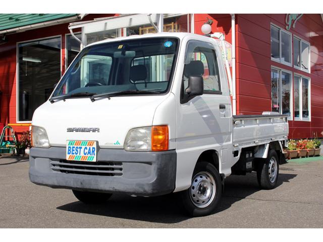 スバル サンバートラック 4WD エアコン 運転席エアバック付 (...