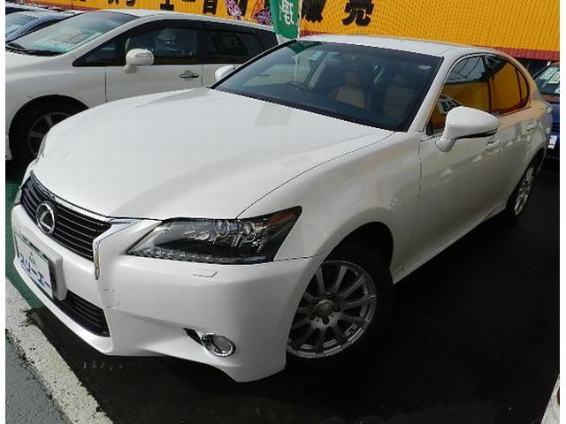 レクサス GS GS350 Iパッケージ 4WD 純正ナビ フルセ...