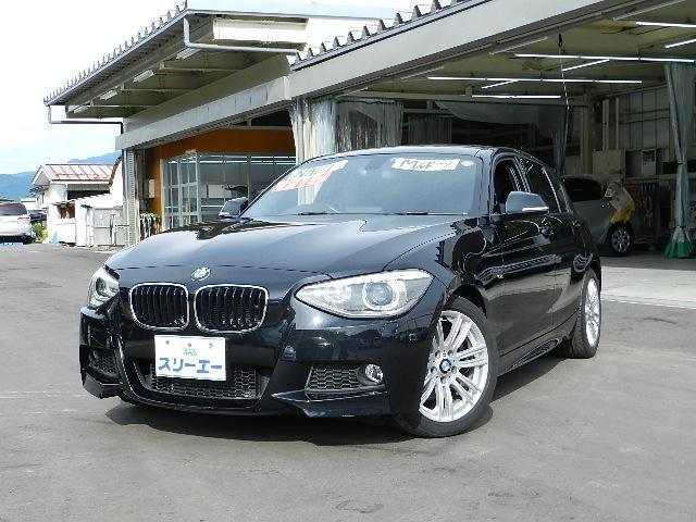 BMW 1シリーズ 116i Mスポーツ ターボ 社外SDナビ フ...