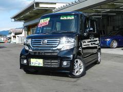 N BOXカスタムG・Lパッケージ CVT車 純正ナビ ワンセグTV