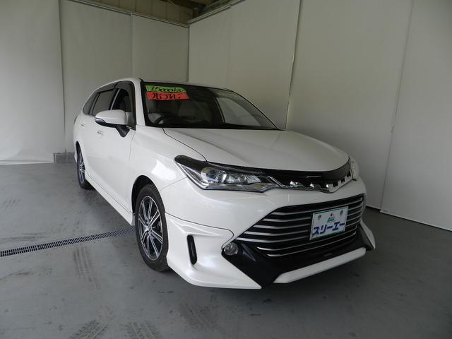 トヨタ 1.5G ダブルバイビー ホワイトレザーシート