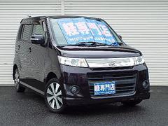 ワゴンRスティングレーTターボ CVT ディスチャージ ナビTV付