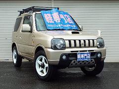 ジムニーワイルドウインドターボ 4WD ナビTV CD MD AW付