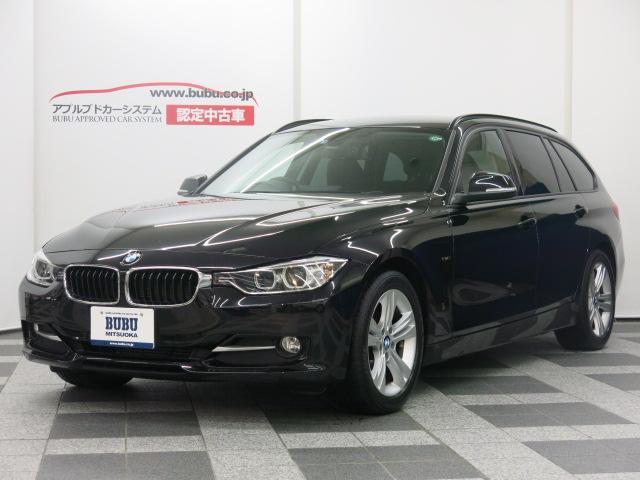 BMW 3シリーズ 320d BP TRG スポーツ 黒革S HD...