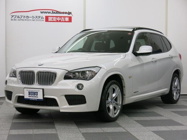 BMW X1 xDrive 28i Mスポーツ 12yモデル 黒革...