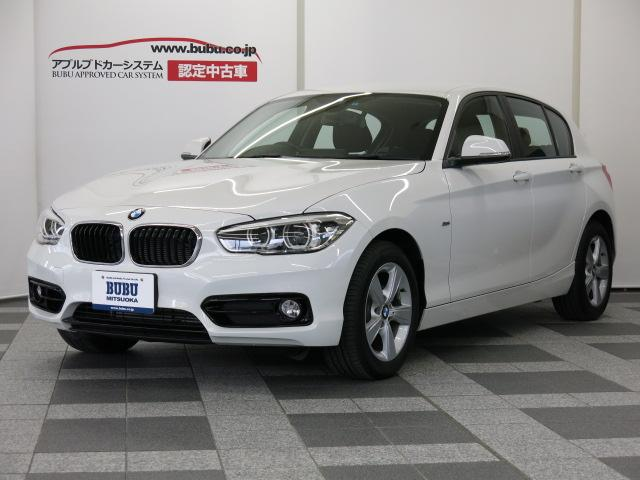 BMW 1シリーズ 118i スポーツ 純正HDDナビ ACC付ド...