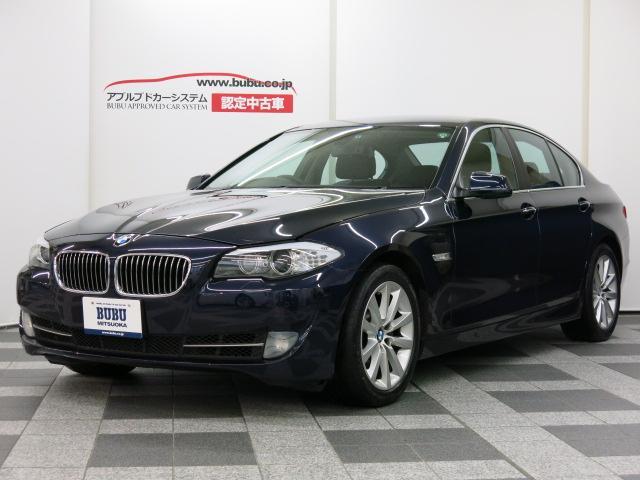 BMW 5シリーズ 535i 1オナ 黒革 シートH HDDナビD...