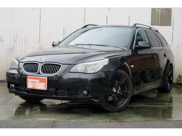 BMW 5シリーズ 525iツーリングハイラインパッケージ 革シー...