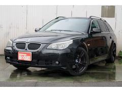 BMW525iツーリングハイラインパッケージ 革シート SR