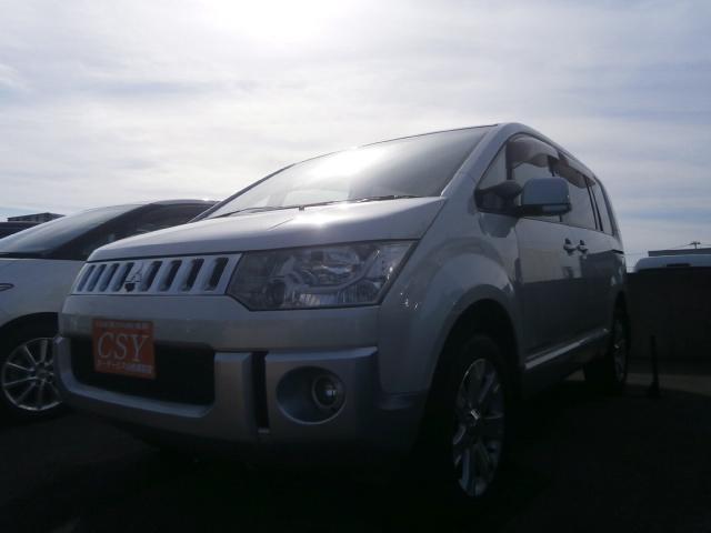 三菱 デリカD:5 G プレミアム 4WD ワンオーナー ナビTV...