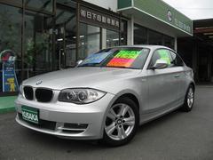 BMW120iクーペ 正規ディーラー車 HDDナビTV Bモニター
