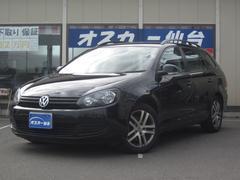 VW ゴルフヴァリアントTSI トレンドライン メモリーナビ