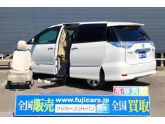 エスティマハイブリッド福祉車両Gウェルキャブ 脱着電動式サイドリフトアップシート
