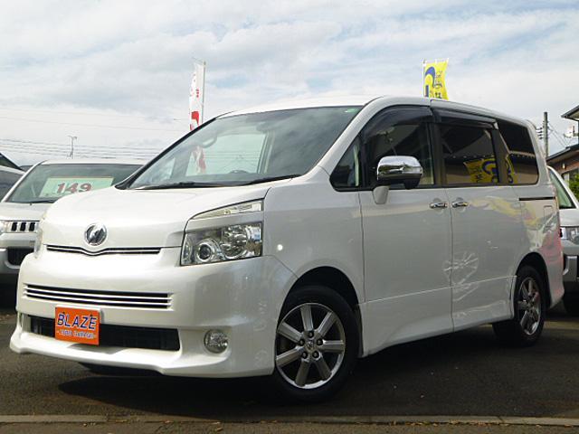 トヨタ ヴォクシー ZS 煌 両側電動ドア HDDナビ後席モニター スマートキー