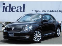 VW ザ・ビートルデザインレザーパッケージ 黒革シート フルセグナビ キセノン