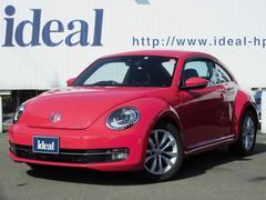 VW ザ・ビートルデザインレザーパッケージ 黒革 フルセグナビ キセノン