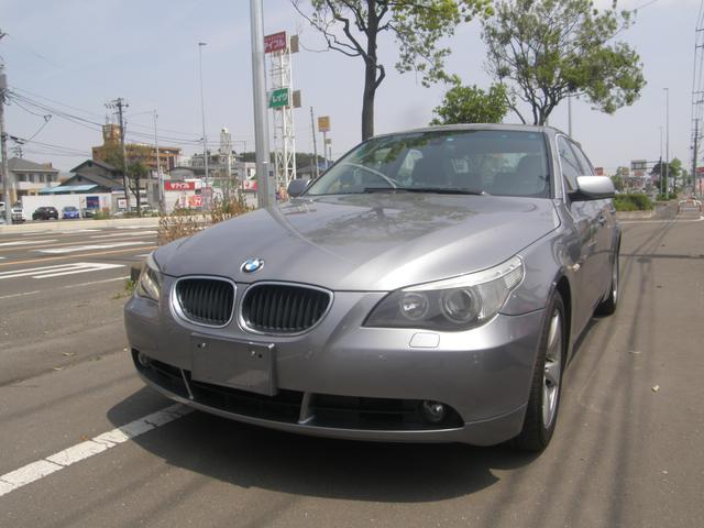 BMW 5シリーズ 525iハイライン 本革Pシート 純正ナビ コ...