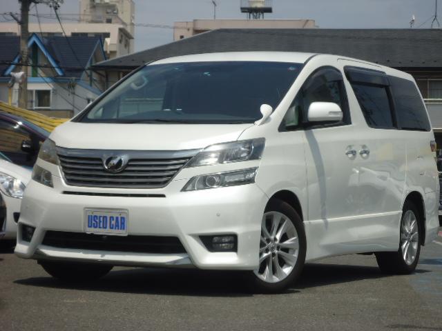 トヨタ 3.5Z プラチナムセレクション 4WD HDDナビ エアロ
