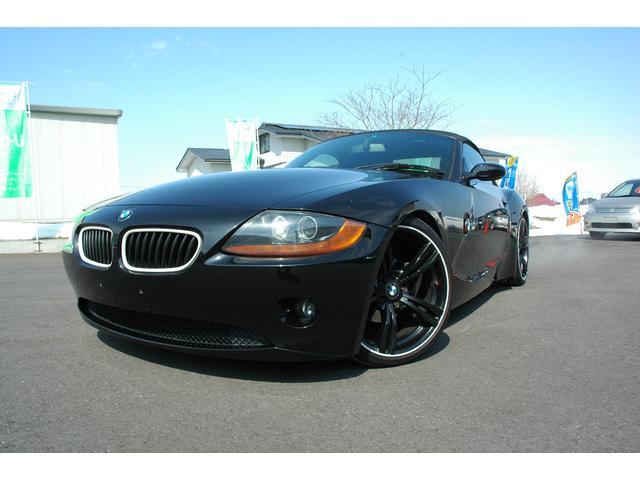 BMW Z4 2.5i社外マフラー 社外19インチ ローダウン (...