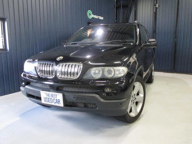 BMW X5 3.0i スポーツPKG 社外HDDナビフルセグTV...