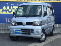 クリッパーバンDX 4WD オートマチック車 AUX付き社外CDデッキ