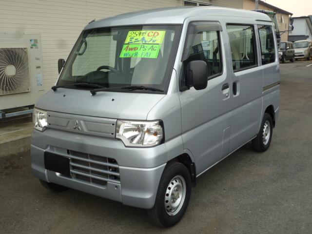 三菱 ミニキャブバン CD ハイルーフ 4WD パワーステアリング...