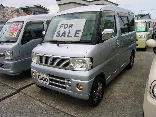 三菱 タウンボックス LX 4WD オートマ アルミ (車検整備付)