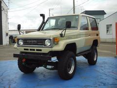 ランドクルーザー70LX 4WD 公認プロスタップリフトアップ ワンオーナー