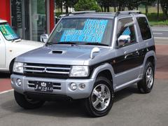 パジェロミニリミテッドエディションVR  4WD ターボ ナビTV