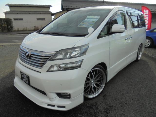 トヨタ 2.4Z プラチナセレクションII 関東仕入 エアロ HDD