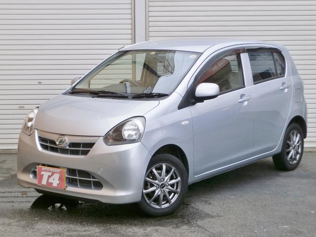 ダイハツ ミライース Xf 4WD ABS エコアイドル 禁煙車 ...