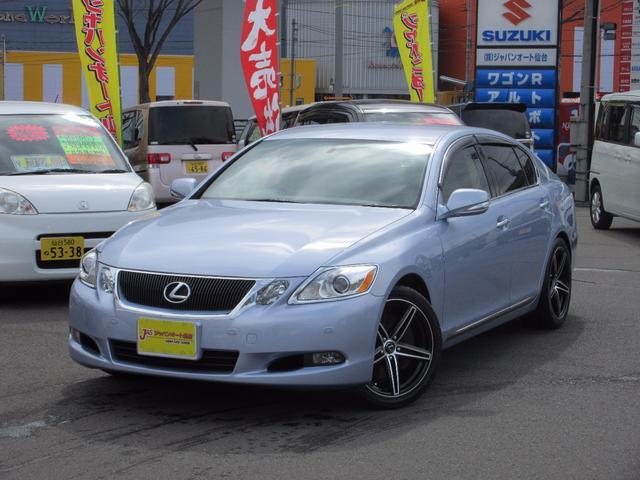 レクサス GS GS350 バージョンI 4WD 革 地デジ付HD...