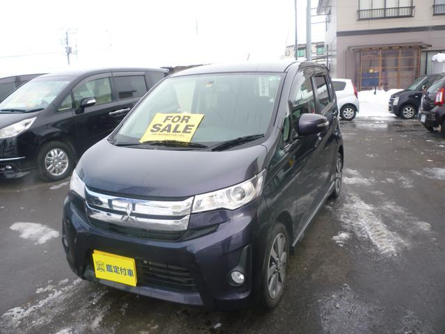 三菱 eKカスタム Tターボ 4WD (検30.7)