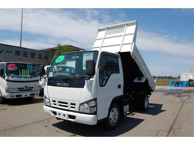 いすゞ エルフトラック 2t 全低床ダンプ 4WD (なし)