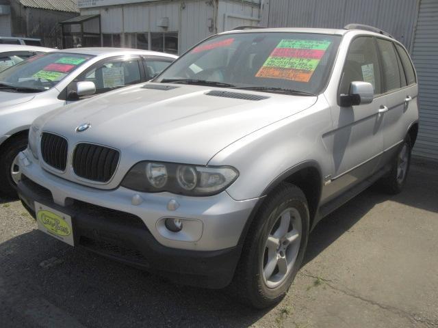 BMW X5 3.0i 4WD 黒革Pシート HDDナビ ETC ...