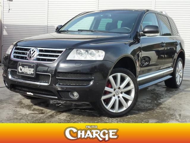 volkswagen touareg w12 exclusive 2006 black 99 000 km details japanese used cars goo. Black Bedroom Furniture Sets. Home Design Ideas