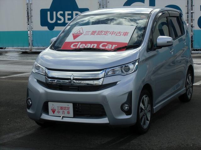 三菱 eKカスタム Tターボ 4WD (車検整備付)