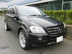 M・ベンツML500 4WD 黒革シート HDDナビTV サンルーフ